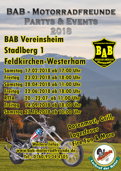 plakat Events 2018 mit Sponsoren